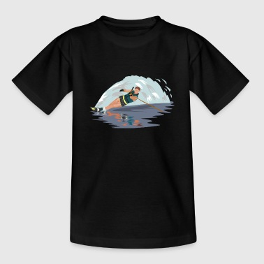 water skiing water ski water3 - Teenage T-shirt