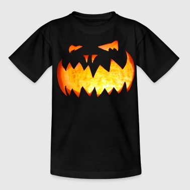 Halloween Pumpkin - Teenager T-Shirt