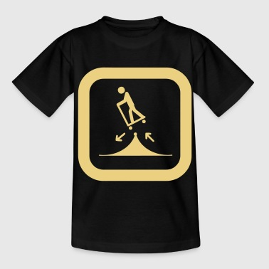 sign skateboard - Teenage T-shirt