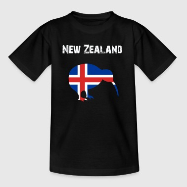 Nation-Design New Zealand Kiwi AeT - Teenager T-Shirt