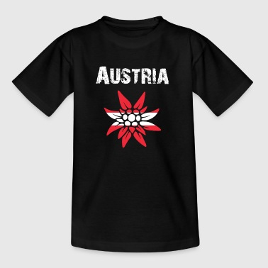 Nation-Design Austria Edelweiss nQI6Lv - Teenager T-Shirt