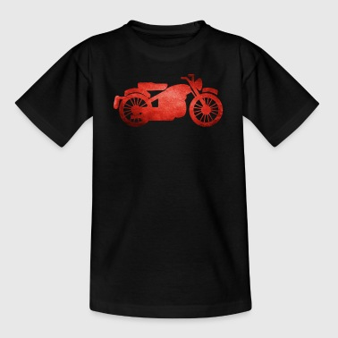 Moto Old Shool vintage - T-shirt Ado
