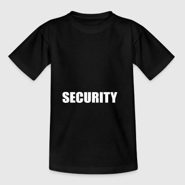 security security service portier typo officieel - Teenager T-shirt