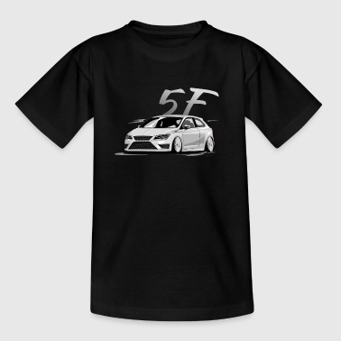 Leon 5f fr, Low, Deep, Stanced, Cupra - Teenager T-Shirt
