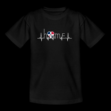 i love home heimat Dominikanische Republik - Teenager T-Shirt