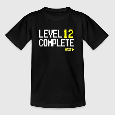 Level 12 Complete Next - Teenager T-shirt