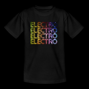 ELECTRO Music techno party Festival Gift - Teenager T-shirt
