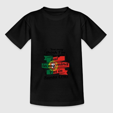 URLAUB HOME ROOTS TRAVEL I M IN Portugal Santa Cru - Teenager T-Shirt
