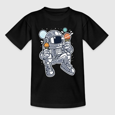 Astronaut Ice Cream - Teenager T-shirt