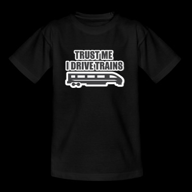 Train driver, train conductor, railway, subway, ICE, train - Teenage T-shirt