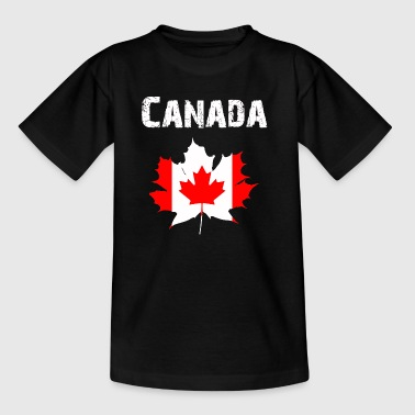 Nation-Design Canada Maple leaf RLUNi - Teenager T-Shirt