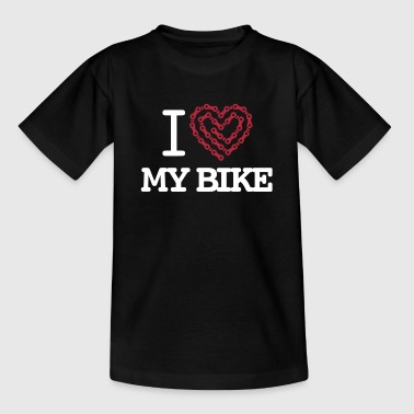 I Love My Bike - T-shirt Ado