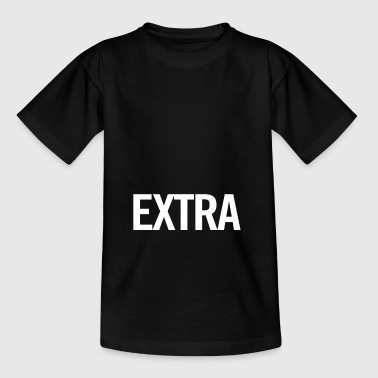 extra White - Teenager T-shirt