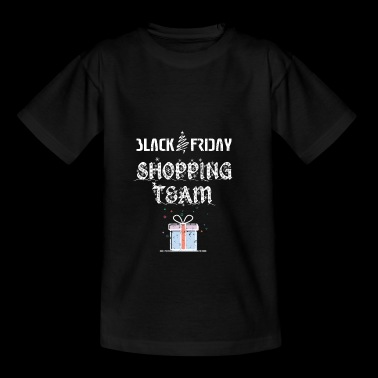 ZWARTE VRIJDAG Shopping-team - Teenager T-shirt