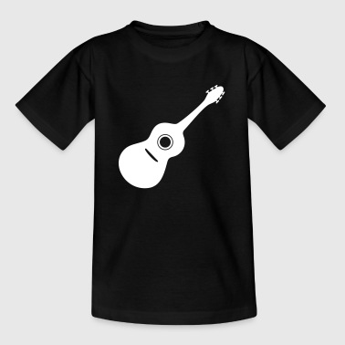 Guitar gift - Teenage T-shirt