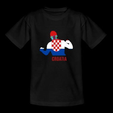 Soccer WC Croatia WC Soccer - Teenage T-shirt