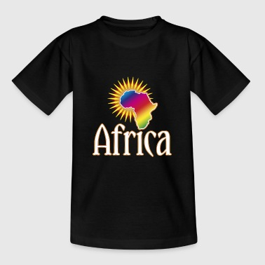 Afrika continent Wilderness Safari Roots Reggae Music - Teenager T-shirt