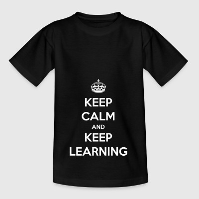 Do not stop learning / school / gift - Teenage T-shirt