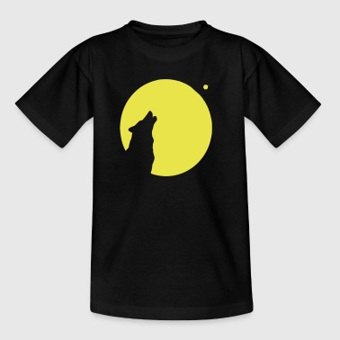hund wolf mond - Teenager T-Shirt