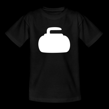 curling steen - Teenager T-shirt