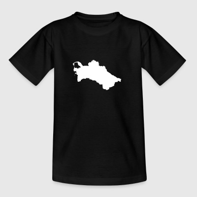 Turkmenistan Original Gift Idea - Teenage T-shirt