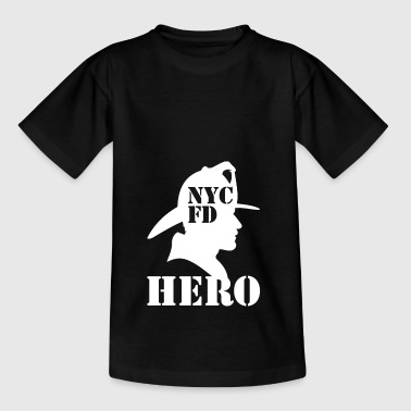nycfd wite - Teenager T-shirt