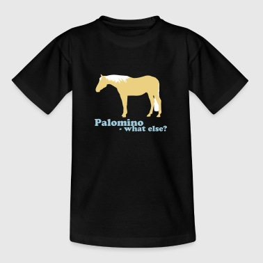 Palomino-what else? - T-skjorte for tenåringer