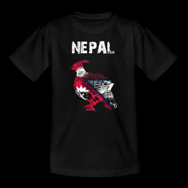 Nation-Design Nepal Monal gmd - Teenager T-Shirt