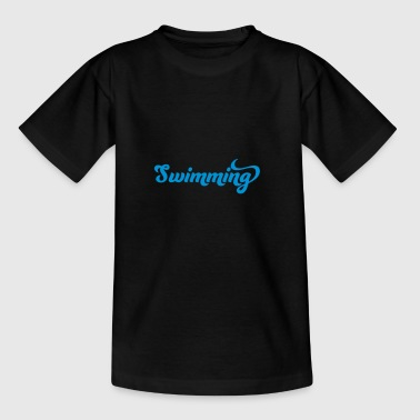 2541614 16037650 swimming - Teenager T-Shirt
