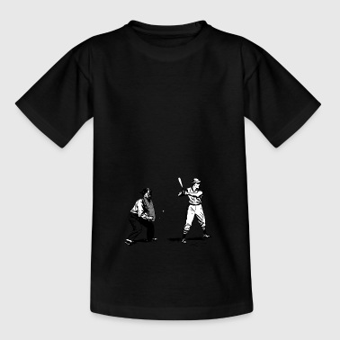 honkbalsporten helm pitcher softball catcher32 - Teenager T-shirt