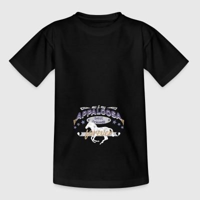 Appaloosa Pferd Pferderasse best friends forever - Teenager T-Shirt