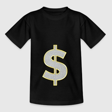 dollarteken - Teenager T-shirt