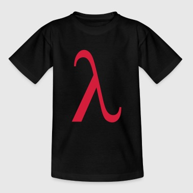 lambda greek - Teenage T-shirt