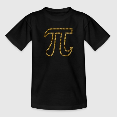 pi outline - Teenage T-shirt