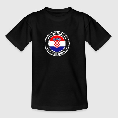 MOJ GRAD STARI GRAD - Teenage T-shirt