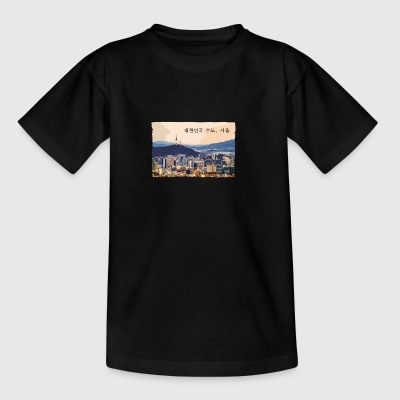 Seoul at Sunset - T-shirt tonåring