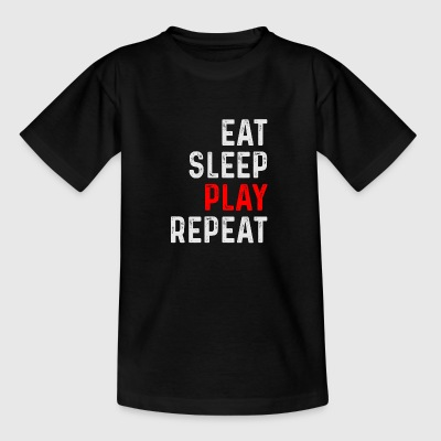 PLAY REPEAT - Teenager-T-shirt