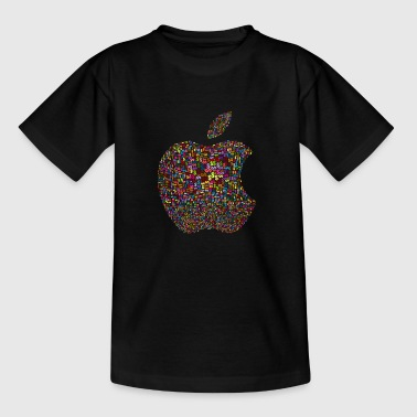 Apple Logo dollartegn - T-skjorte for tenåringer