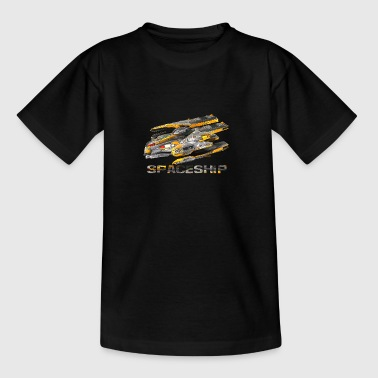 Spaceship - Gameart - Teenage T-shirt