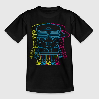 Mens' Shirt SpongeBob Triple - Teenage T-shirt