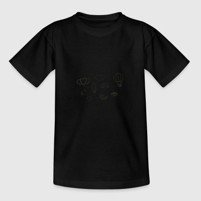 images to digital graphic - Teenage T-shirt