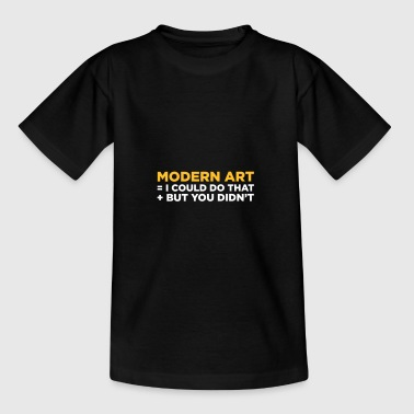 Moderne Kunst - Teenager T-Shirt