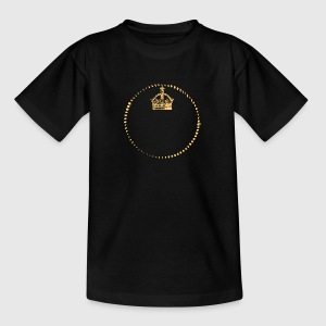 Crown - King - Queen - PROPRE TEXTE D'ENTRÉE - T-shirt Ado