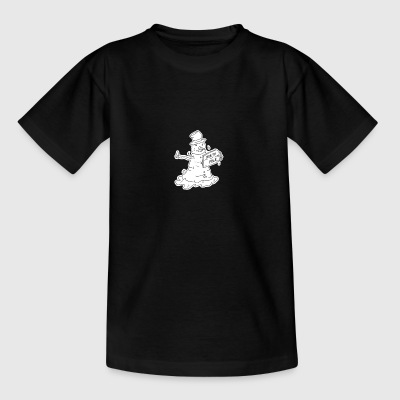 Tramp Snowman - Teenager T-shirt