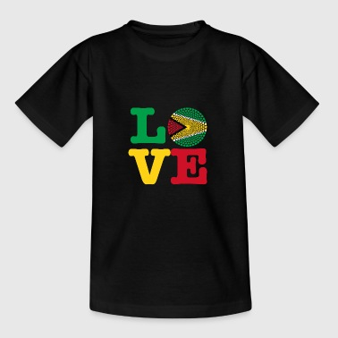 GUYANA HEART - Teenage T-shirt