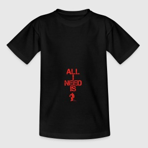 all i need gift geschenk hobby sport hockey ice ho - Teenager T-Shirt