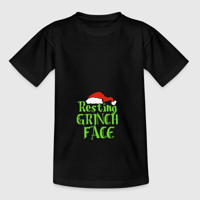 Resting Grinch Face - Teenage T-shirt