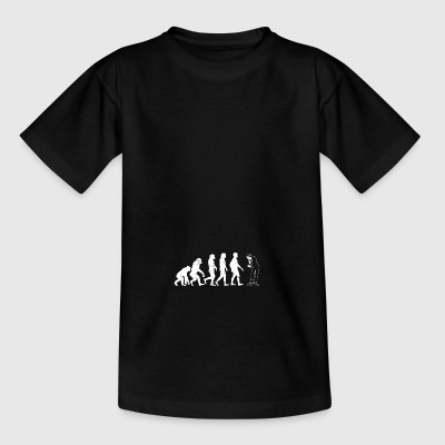 Pantomime evolution gift silent silently silent - Teenage T-shirt