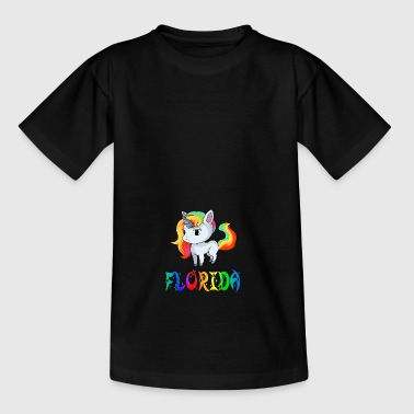 Unicorn Florida - Teenager-T-shirt