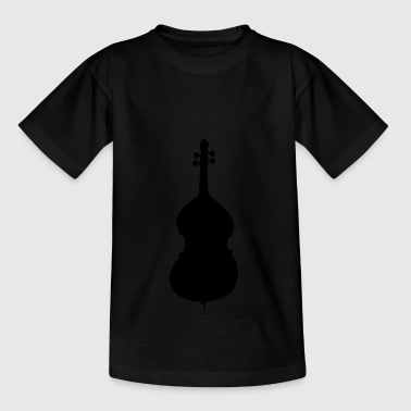 double bass - Teenage T-shirt